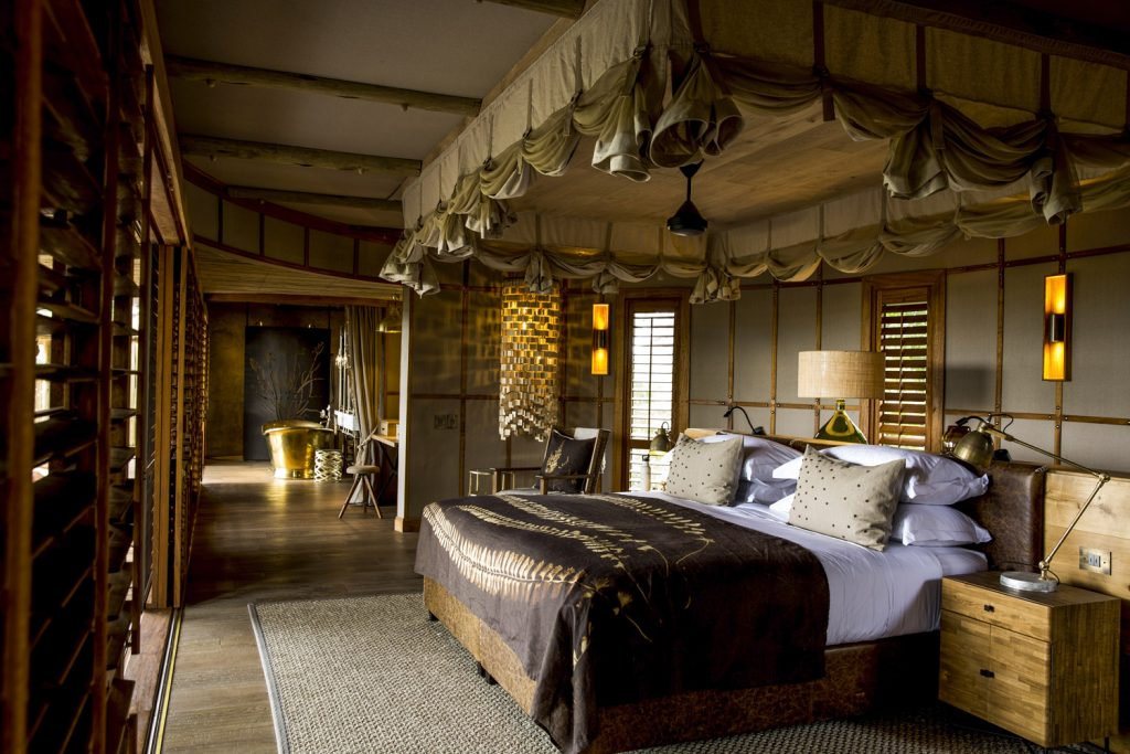 A Sustainable and Luxuriously Designed African Lodge