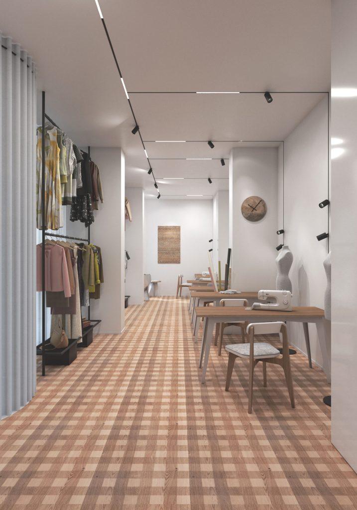 Retail Design hall