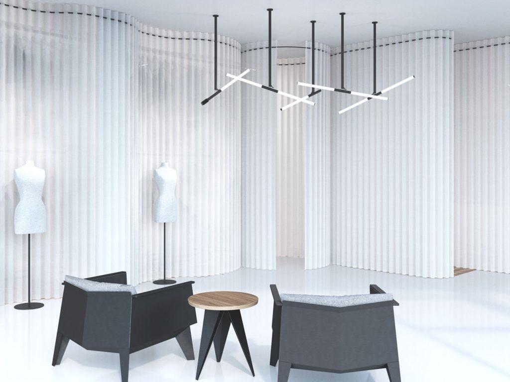 Retail Design seating area