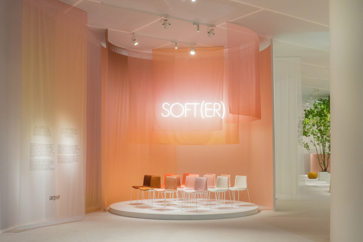 Arper at Salone del Mobile on the SBID interior design blog event highlights