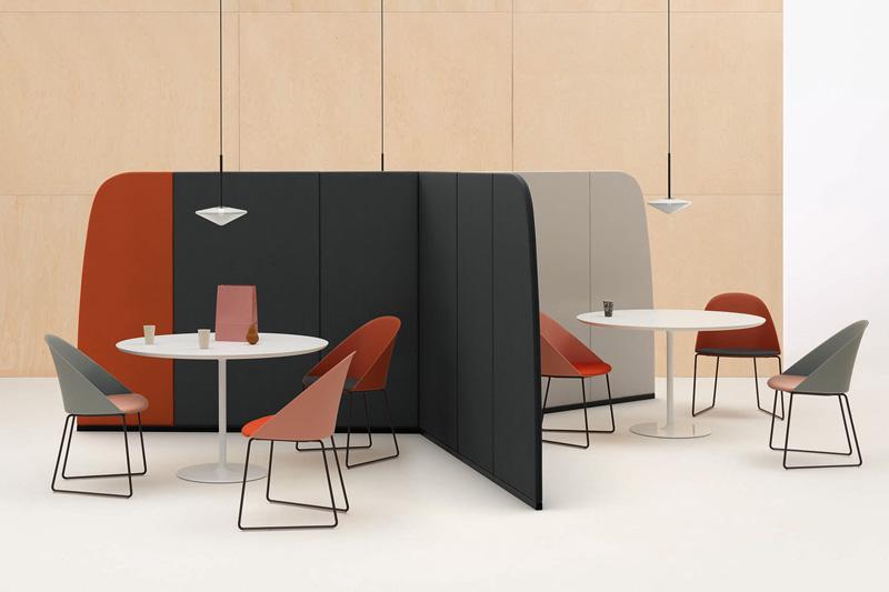 Arper at Salone del Mobile on the SBID interior design blog event highlights