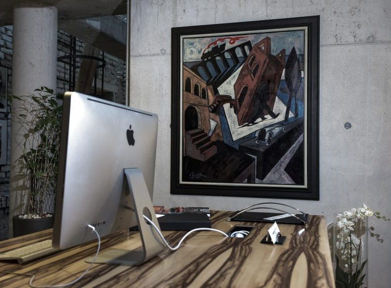 Office interior design image for SBID blog about art in corporate spaces