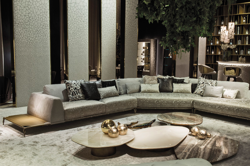 Roberto Cavalli at Salone del Mobile on the SBID interior design blog event highlights
