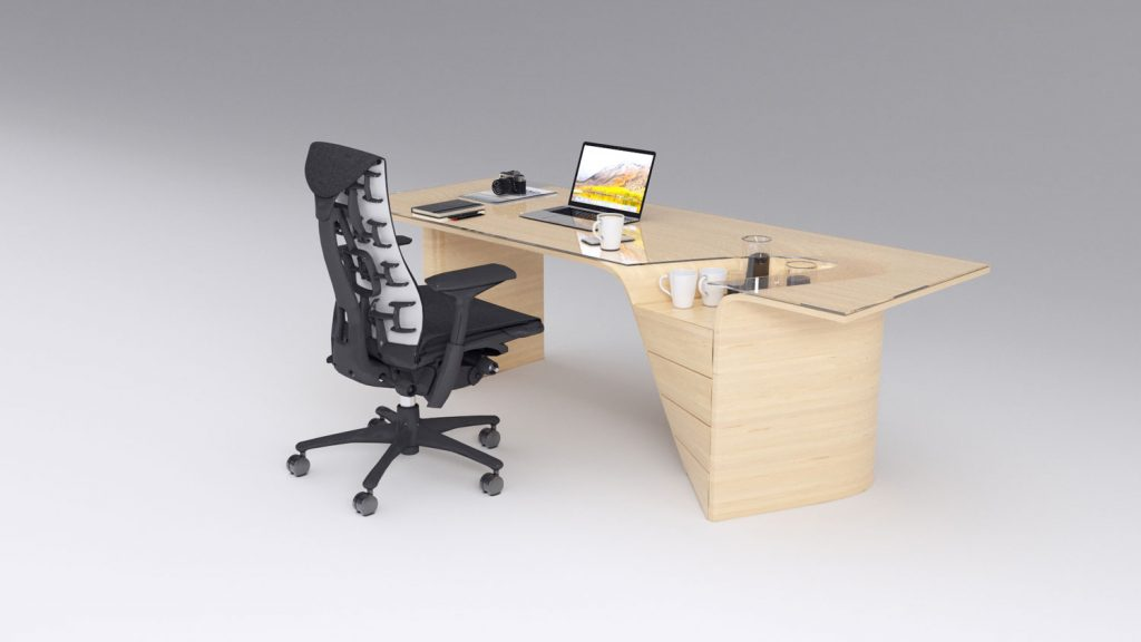 Office desk product design