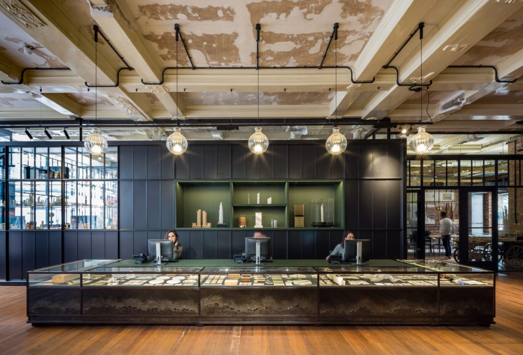 office design, Dilapidated Department Store Restored into a Sustainable Design Practice