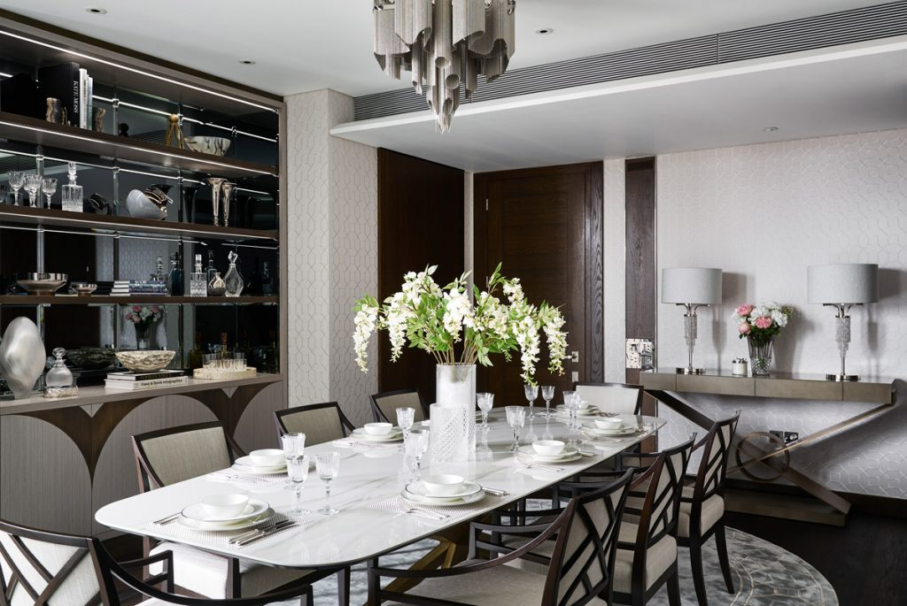 residential design, A Timeless and Feminine Home with Hollywood, Art Deco Glamour