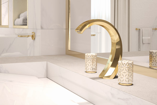THG Paris porcelaine bathroom collection product news feature for SBID interior design blog