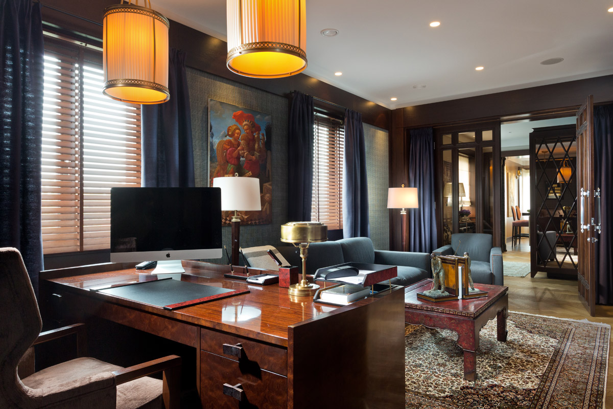 A Timeless Art Deco Interior with Classic 20th Century Influences