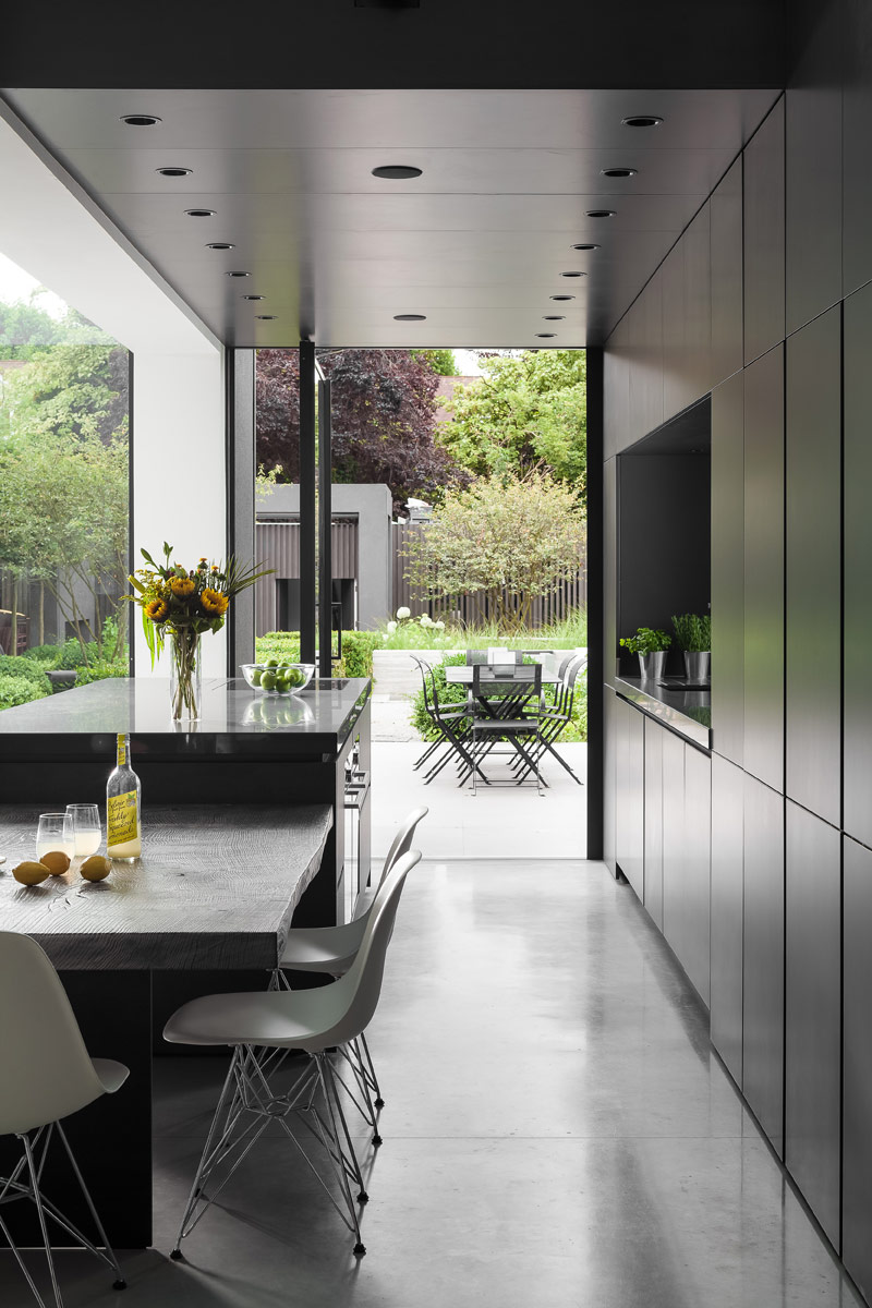 Halcyon Interiors, Warwick Road residential design project images for SBID interior design blog, Project of the Week