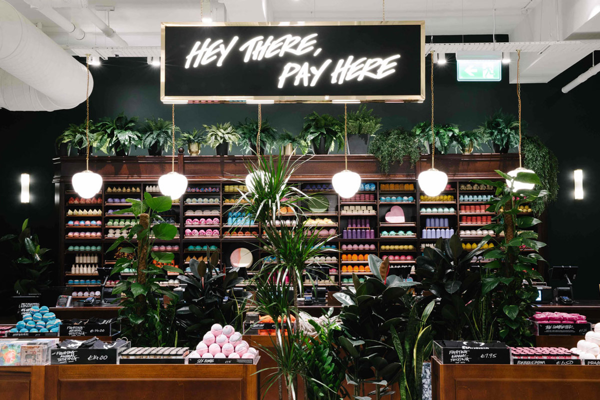 Sustainable Retail Design for Lush's Largest Global Store