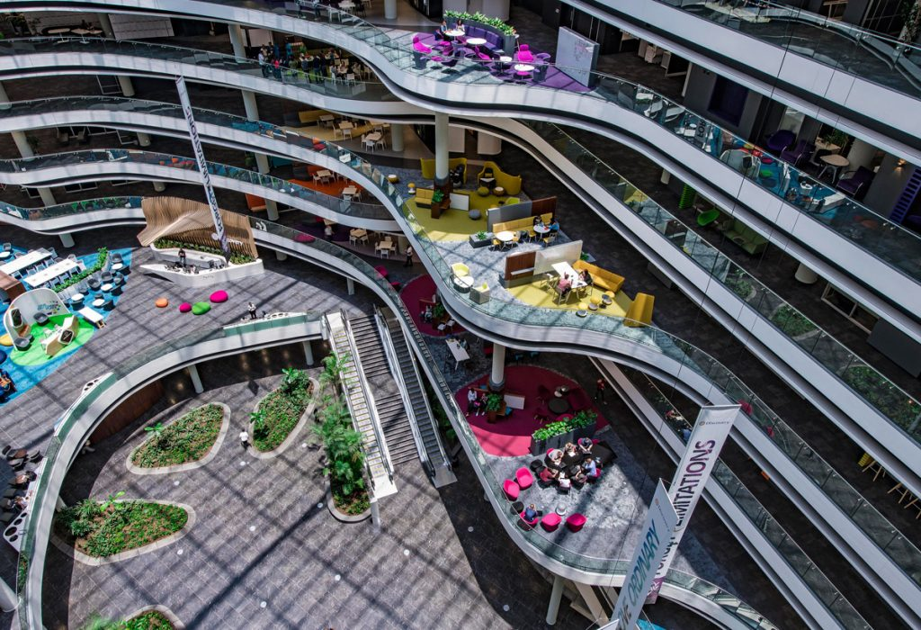 office design, South Africa Makes Architectural Statement with Green Rated Office Development