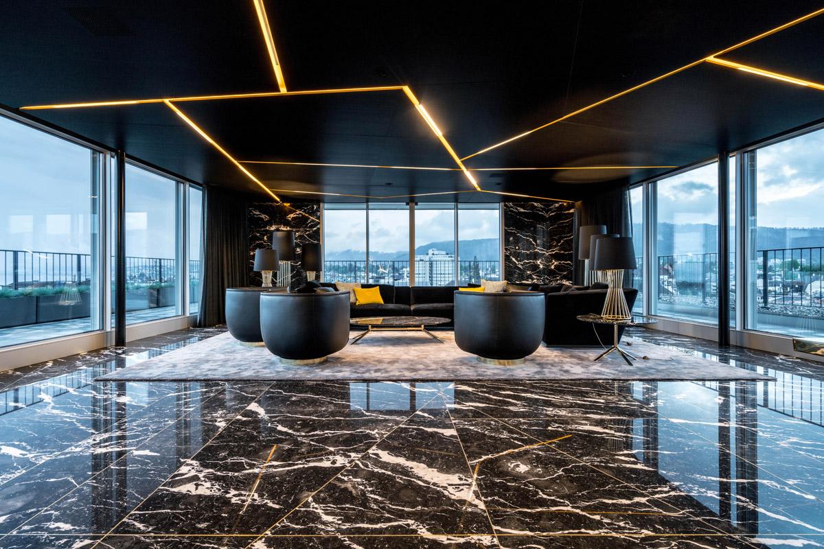 Real Estate Office design by Landau + Kindelbacher project images for SBID interior design blog, Project of the Week