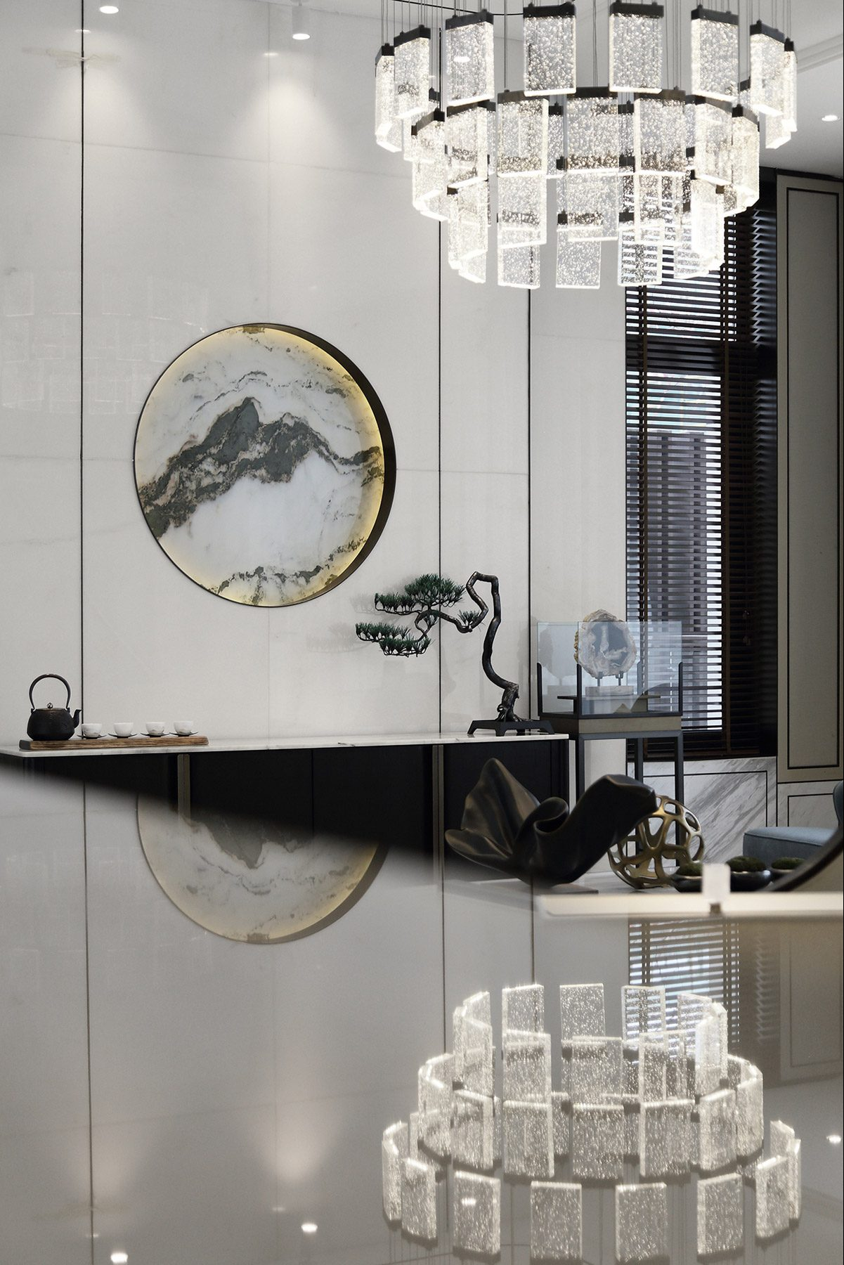 Show flat interior design