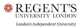 Regent's University London logo for SBID Recognised University list for providing degree courses in interior design