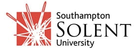 Southampton Solent University logo for SBID Recognised University list for providing degree courses in interior design