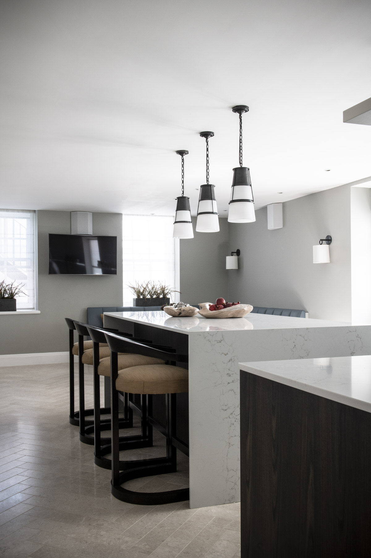 Portview Fit Out residential design project images for SBID interior design blog, Project of the Week