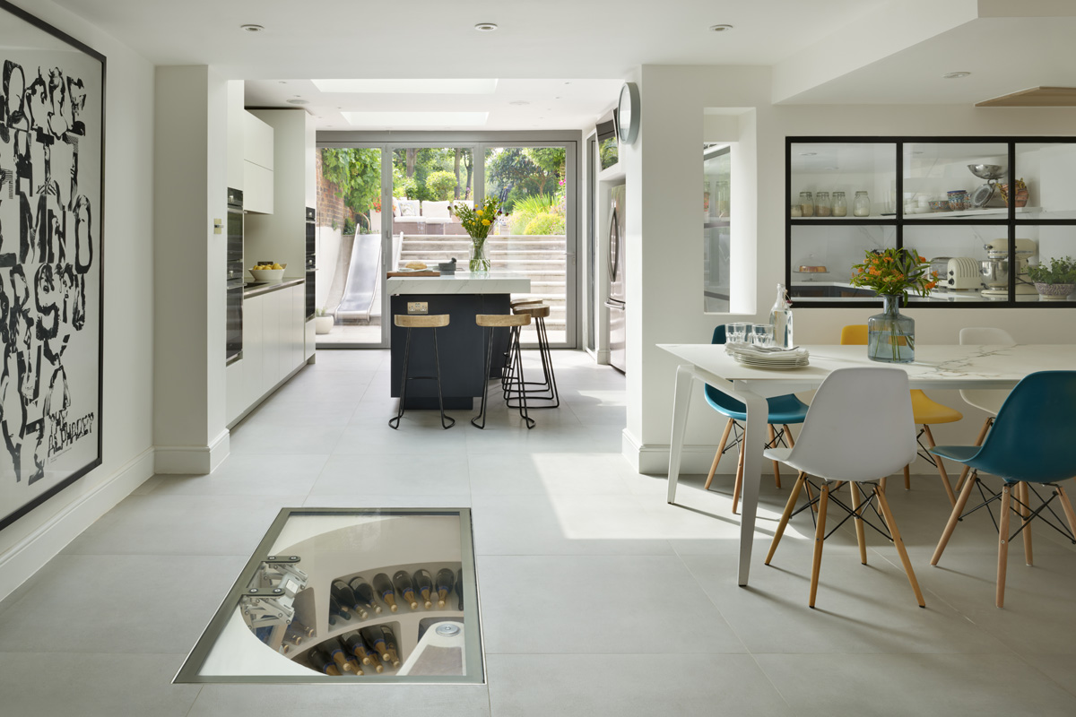 Spiral Cellars interior product news for SBID interior design blog