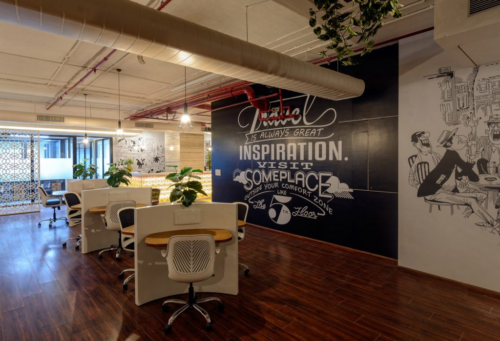 office design, Office Designed with Hospitality in Mind for Diverse Co-Working Space