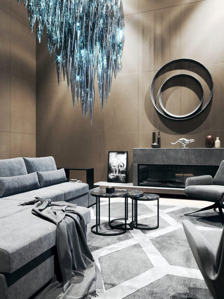 SBID Awards Sponsor Sans Souci featuring lighting design in lobby interior image