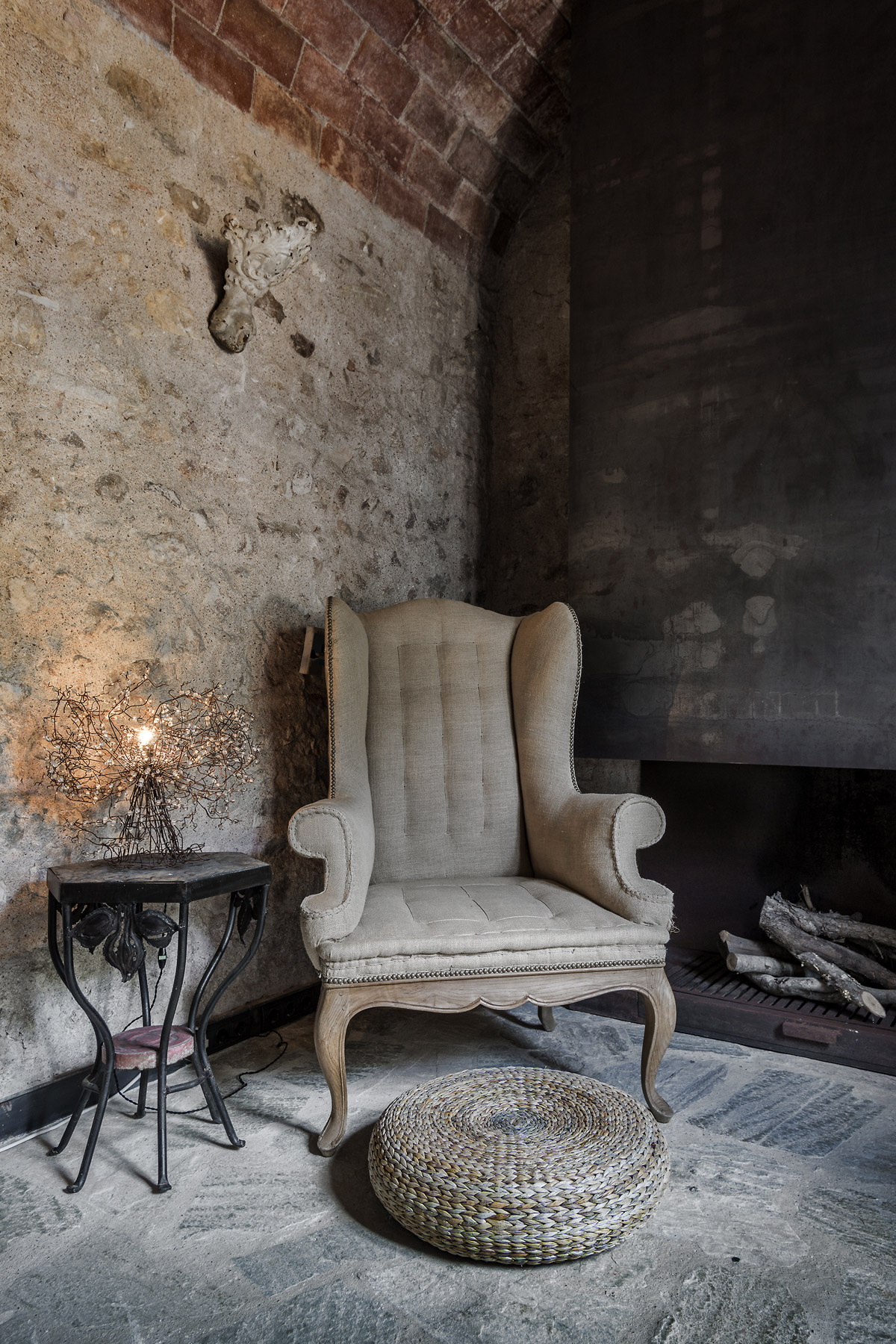 Interior designer, Ana Engelhorn project image of antique chair