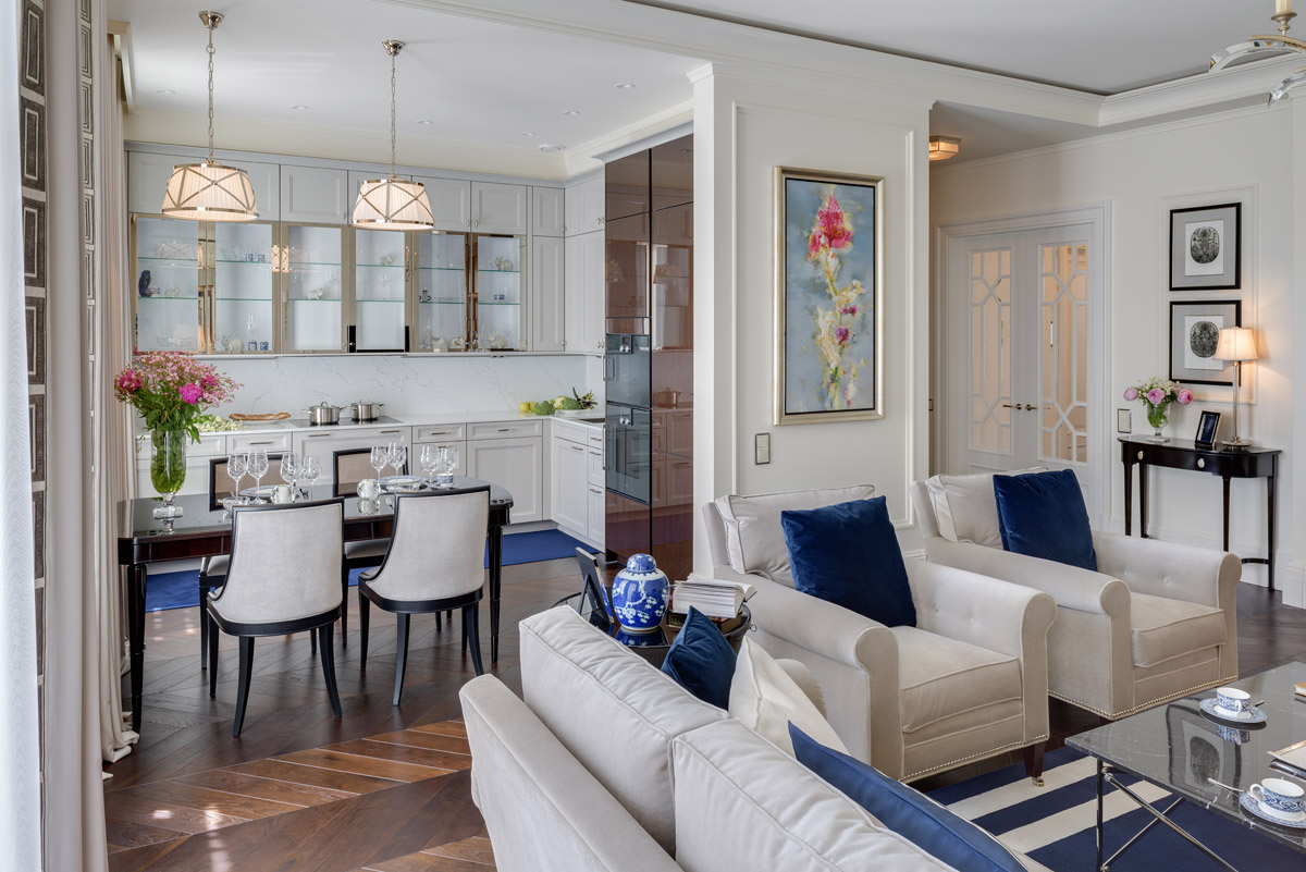 residential design, 19th Century Apartment with Historic Style and Sophisticated Luxury