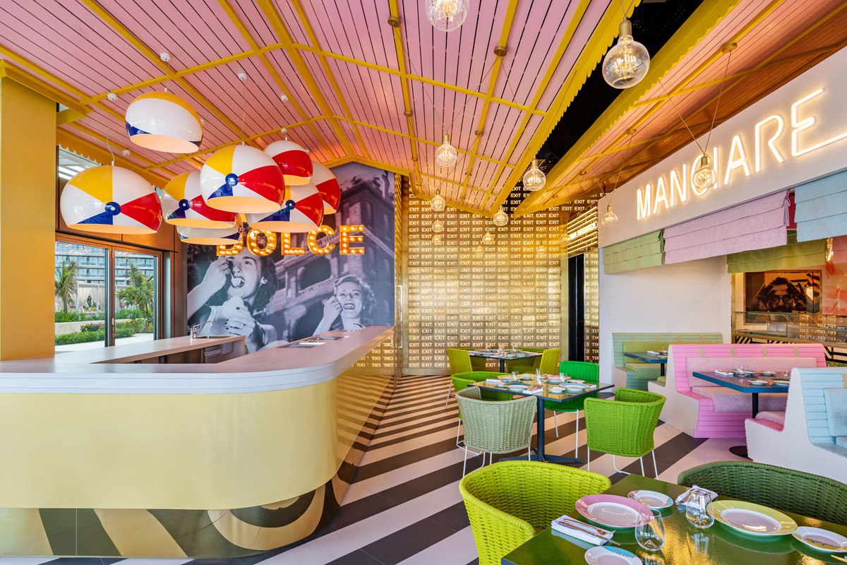 Immersive Restaurant with Intoxicating Narrative & Playful Charm
