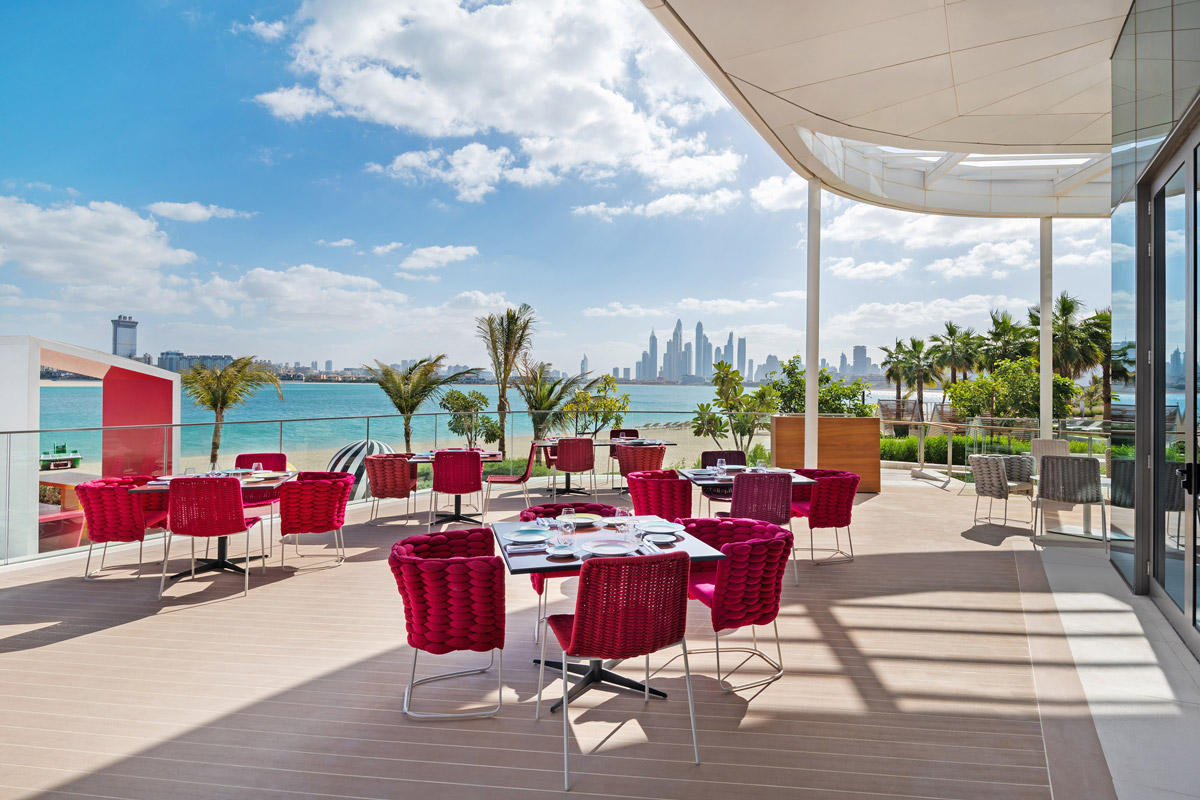 Restaurant design for Massimo Bottura restaurant in Dubai, Torno Subito by Bishop Design