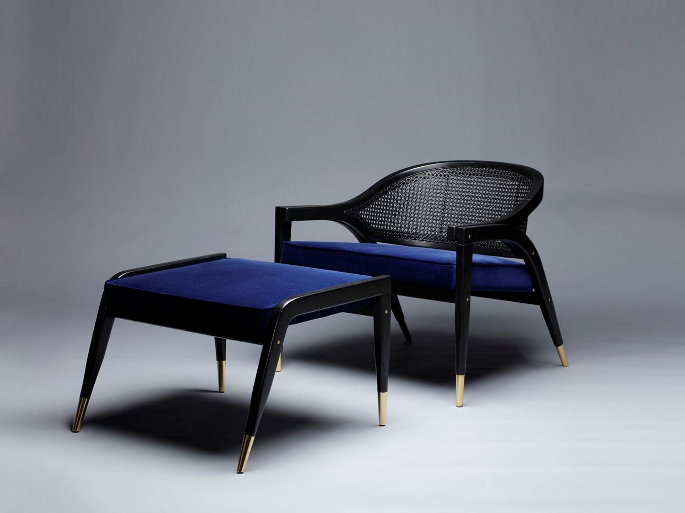 SBID Awards Sponsor Kassavello image of armchair and foot stool