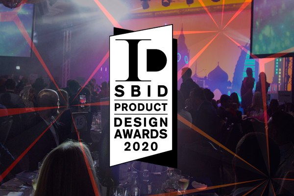 SBID Product Design Awards 2020 launch visual