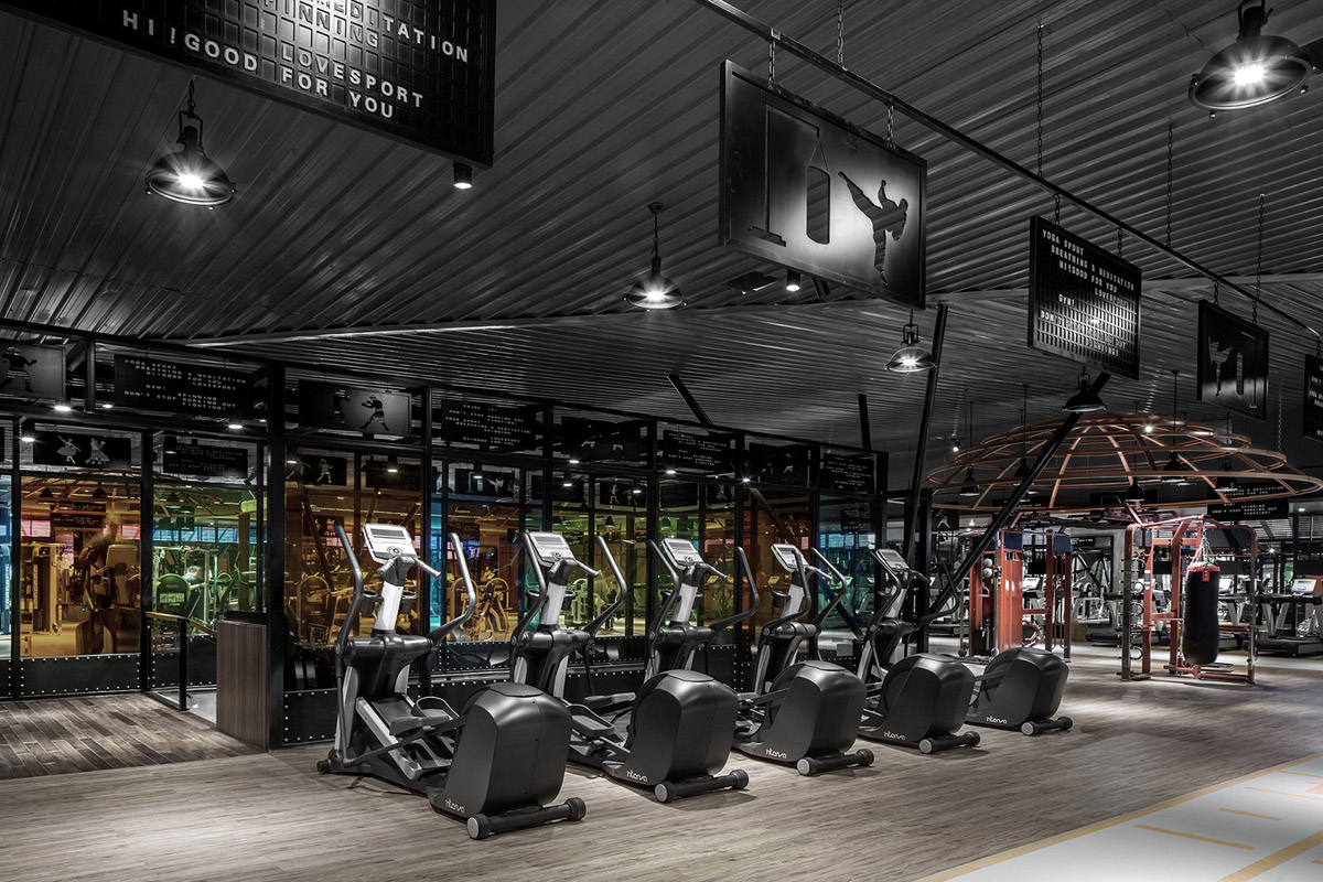 Healthcare & Wellness Design by XDH Design Firm with Five Fitsport