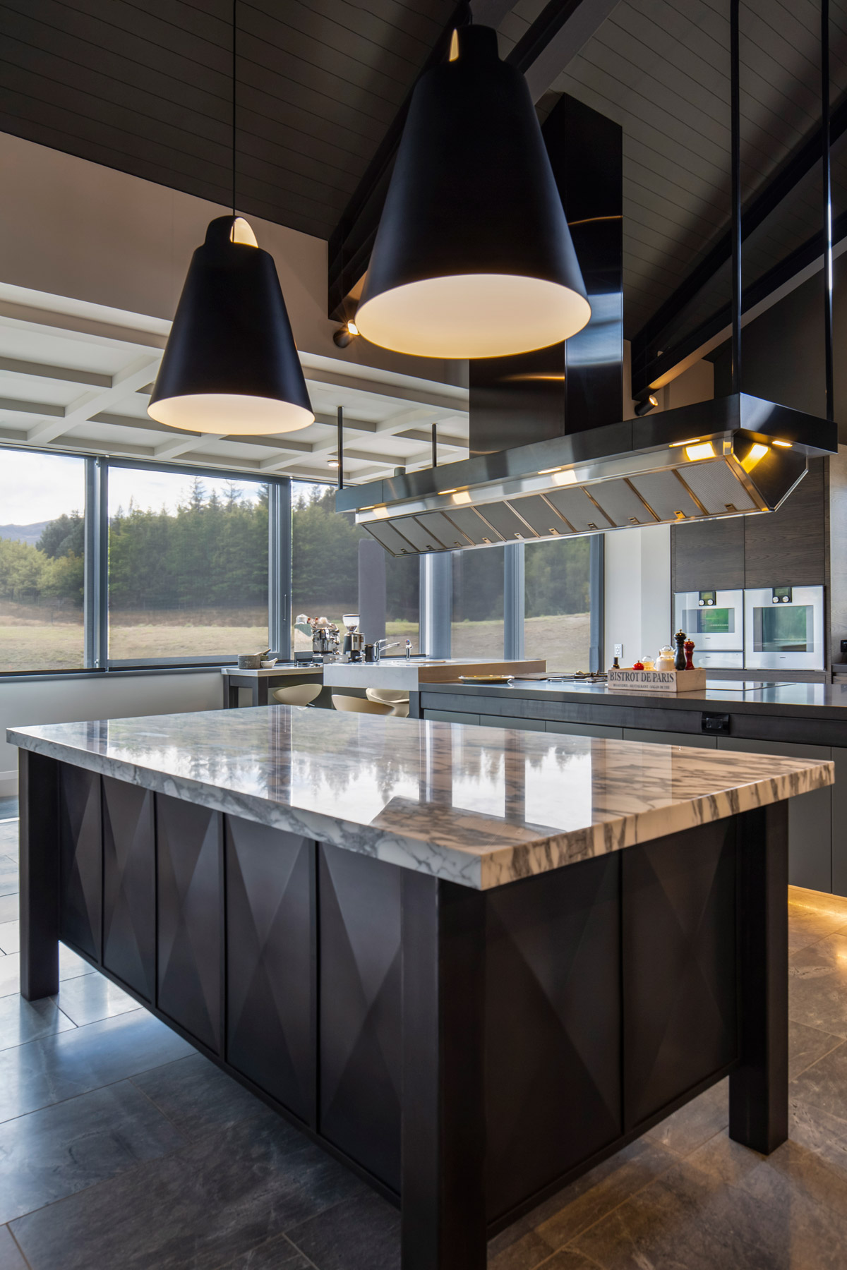 kbb design, Contemporary Kitchen Design with Commercial Modernity and Oriental Influence