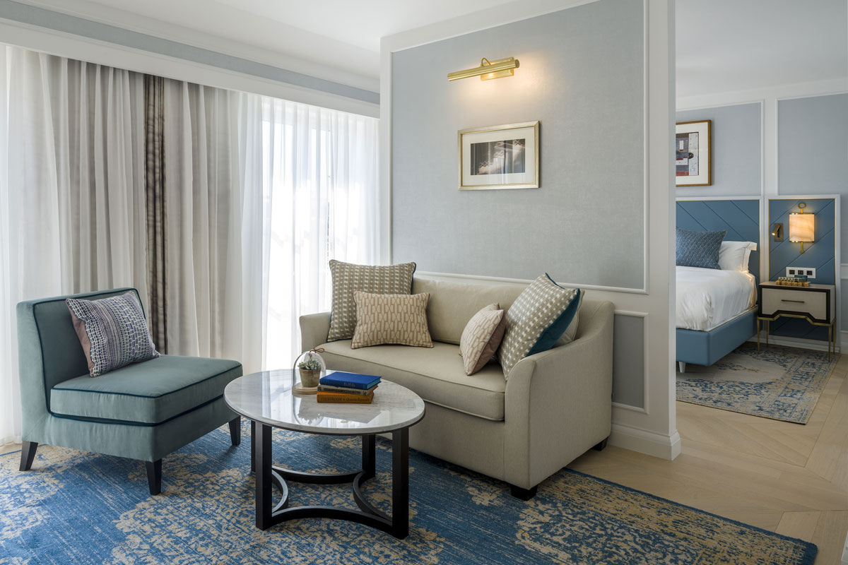 hotel design, Luxurious Golden Age Glamour for the Hilton Imperial Dubrovnik