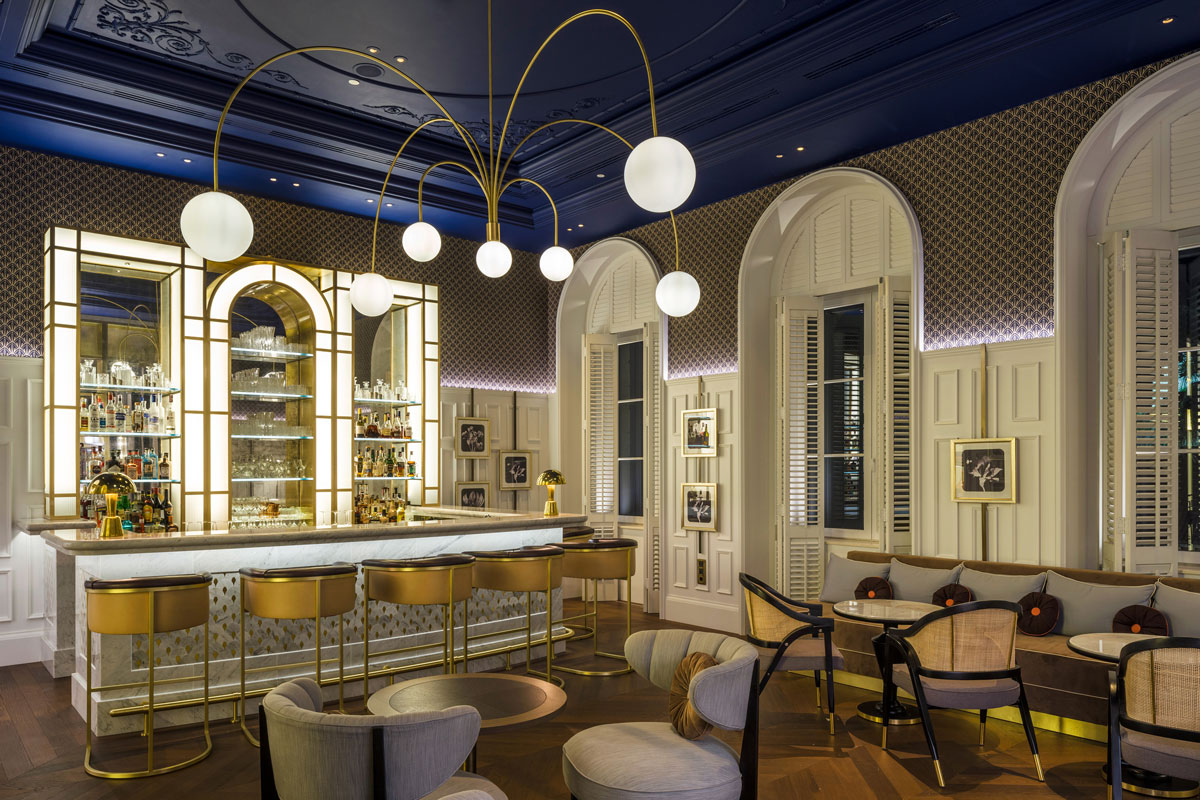 Luxurious Golden Age Glamour for the Hilton Imperial Dubrovnik