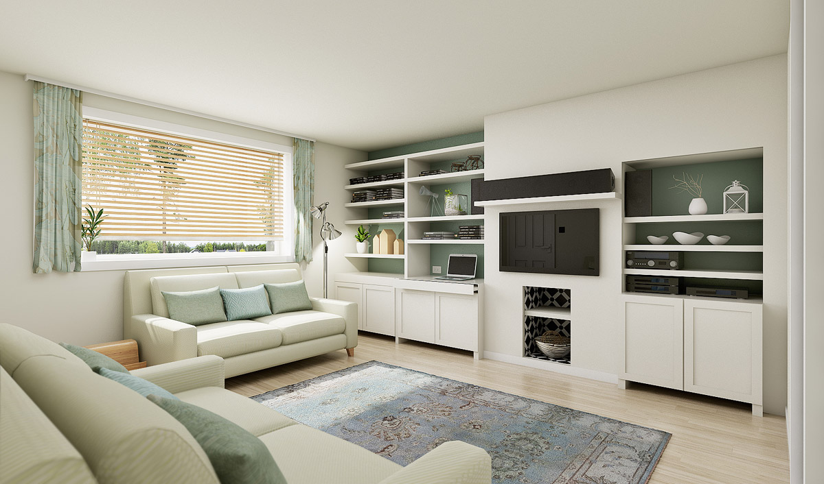 Katie Malik Interiors Home Office Design
