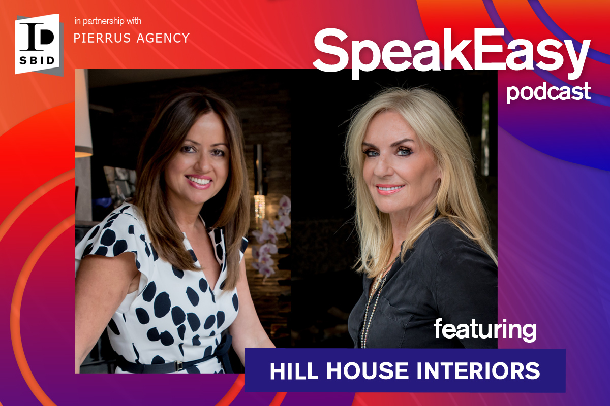 NEW Podcast Episode: SpeakEasy with Hill House Interiors