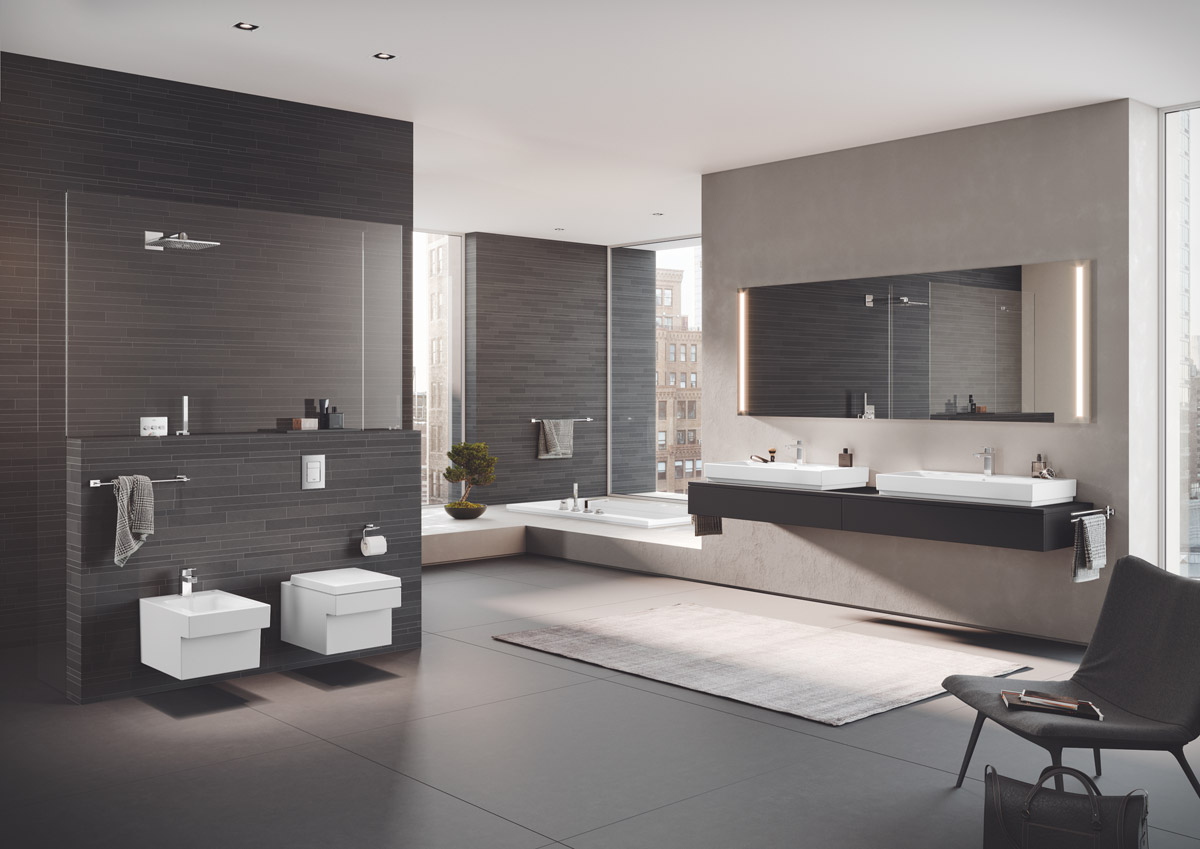 Hygiene becomes a key consideration for kitchen and bathroom designers