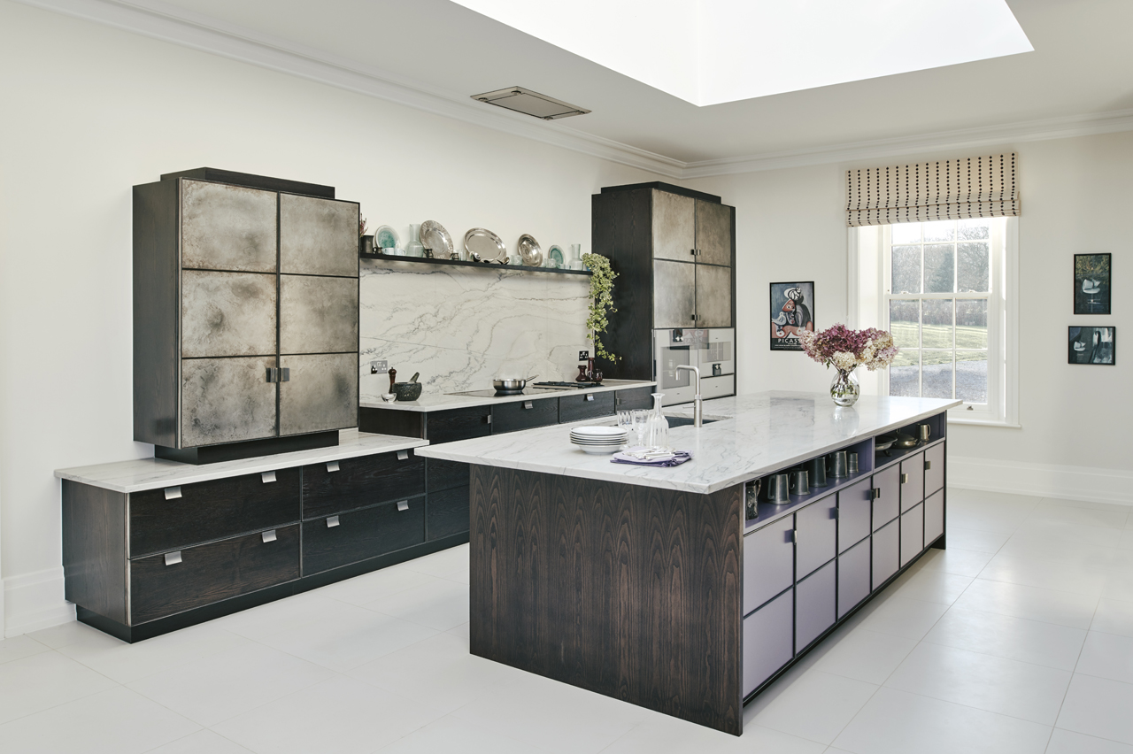 Residential Cheshire Kitchen Design For New Build