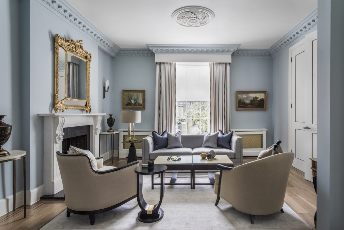 Stucco-Fronted Victorian Project Undergoes Refurbishment