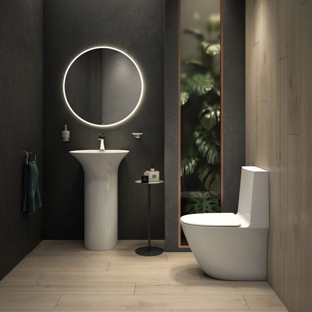 RAK Sanit bathroom products in an interior setting