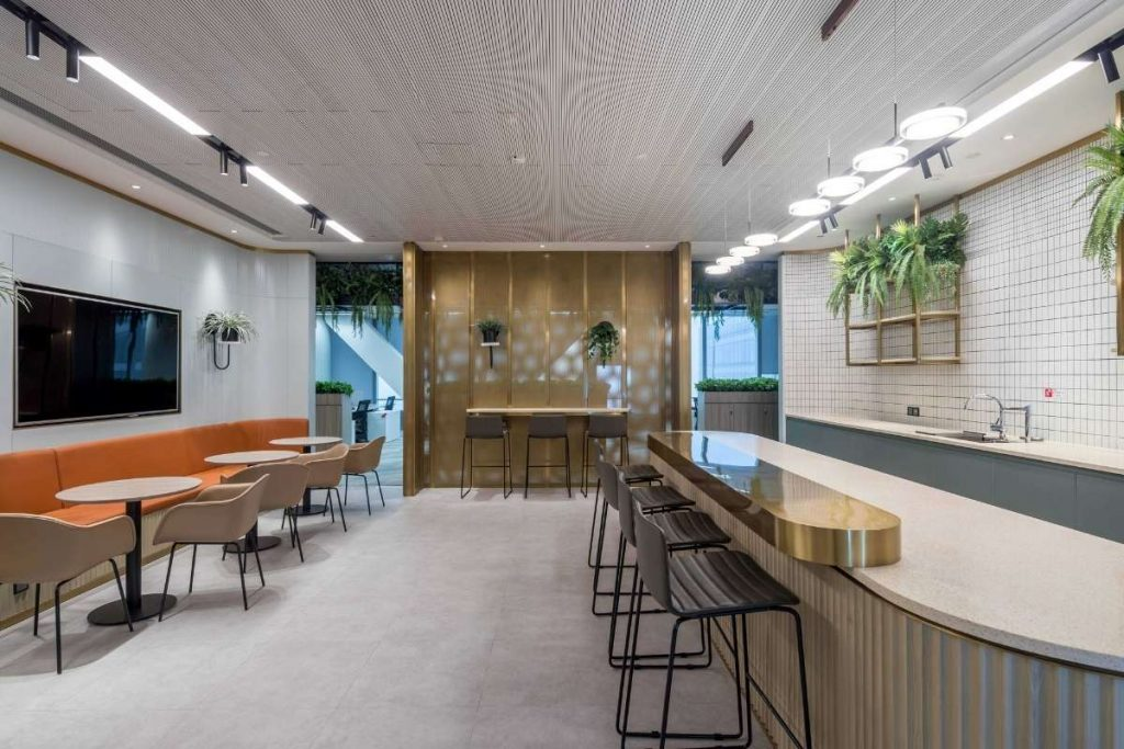 Client-Focused Office Design Creates Strong First Impression