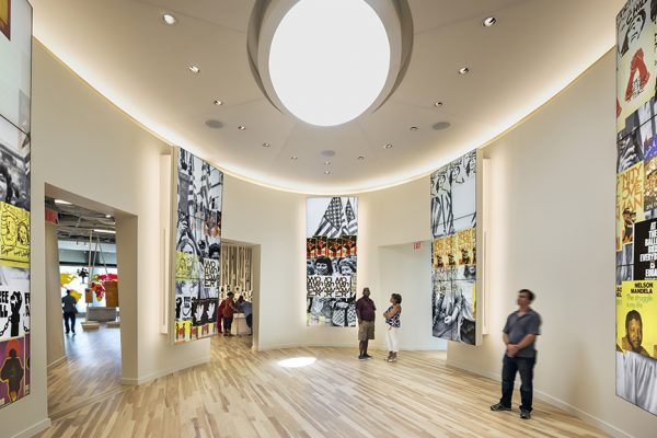 National Center for Civil & Human Rights, Location: Atlanta GA, Design Architect: Freelon Group, Architect of Record: HOK, Exhibit Design: Rockwell Group