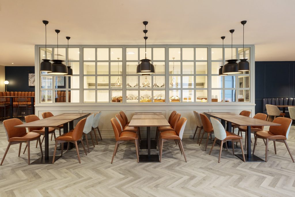 Karndean Design Contemporary Flooring For Hotel Social Space