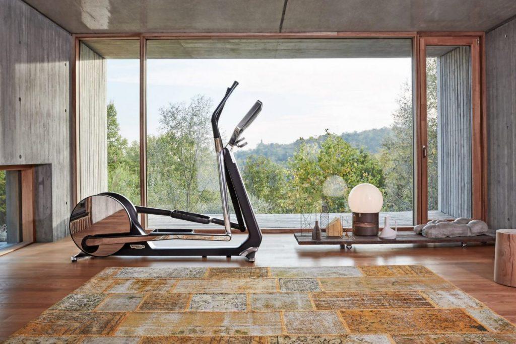 Design meets innovative digital contents for enhanced home gym interiors