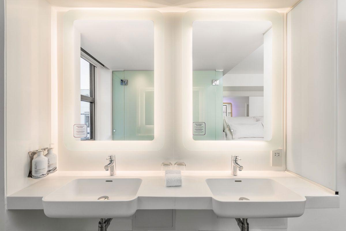 contemporary bathrooms, Roca selected for contemporary bathrooms at the first YOTEL Edinburgh