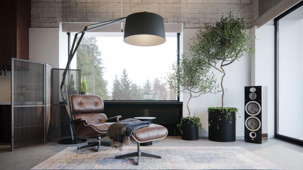 , Modern Minimalist Residential Design Creates Calm Atmosphere