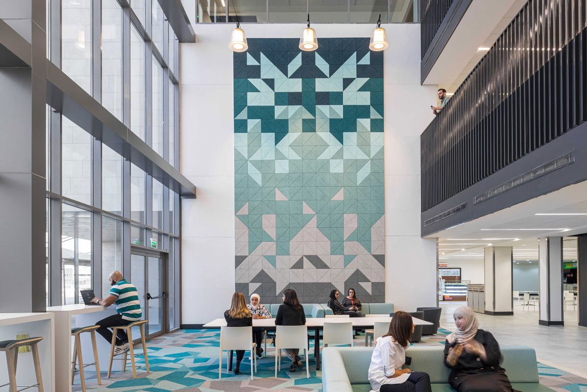 University Campus Design Fosters Community and Wellness