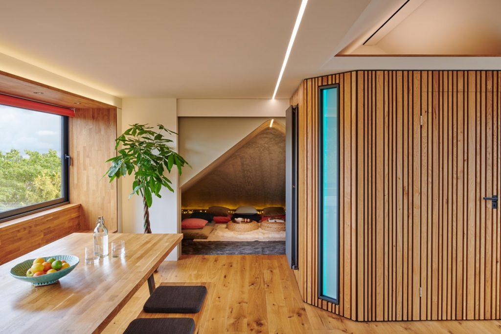 , Loft Conversion Maximises Space with Modern-Retro Design