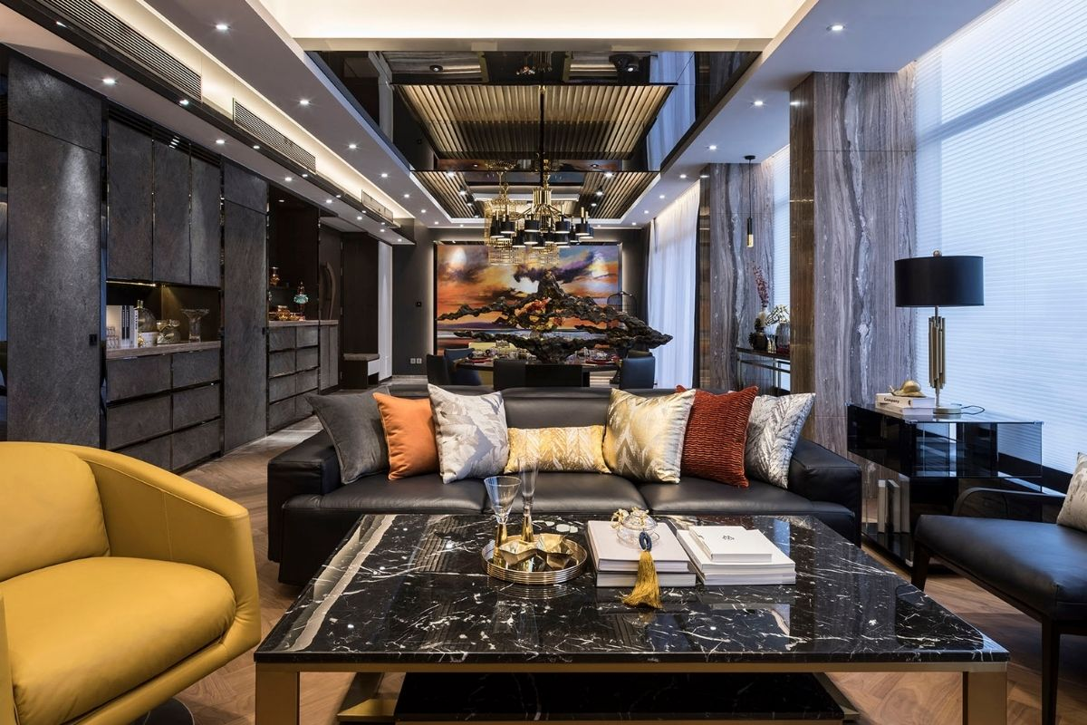 Clubhouse-Style Apartment Design Achieves Luxurious Result