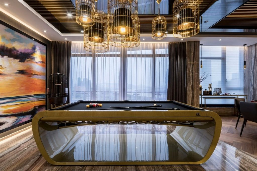 , Clubhouse-Style Apartment Design Achieves Luxurious Result