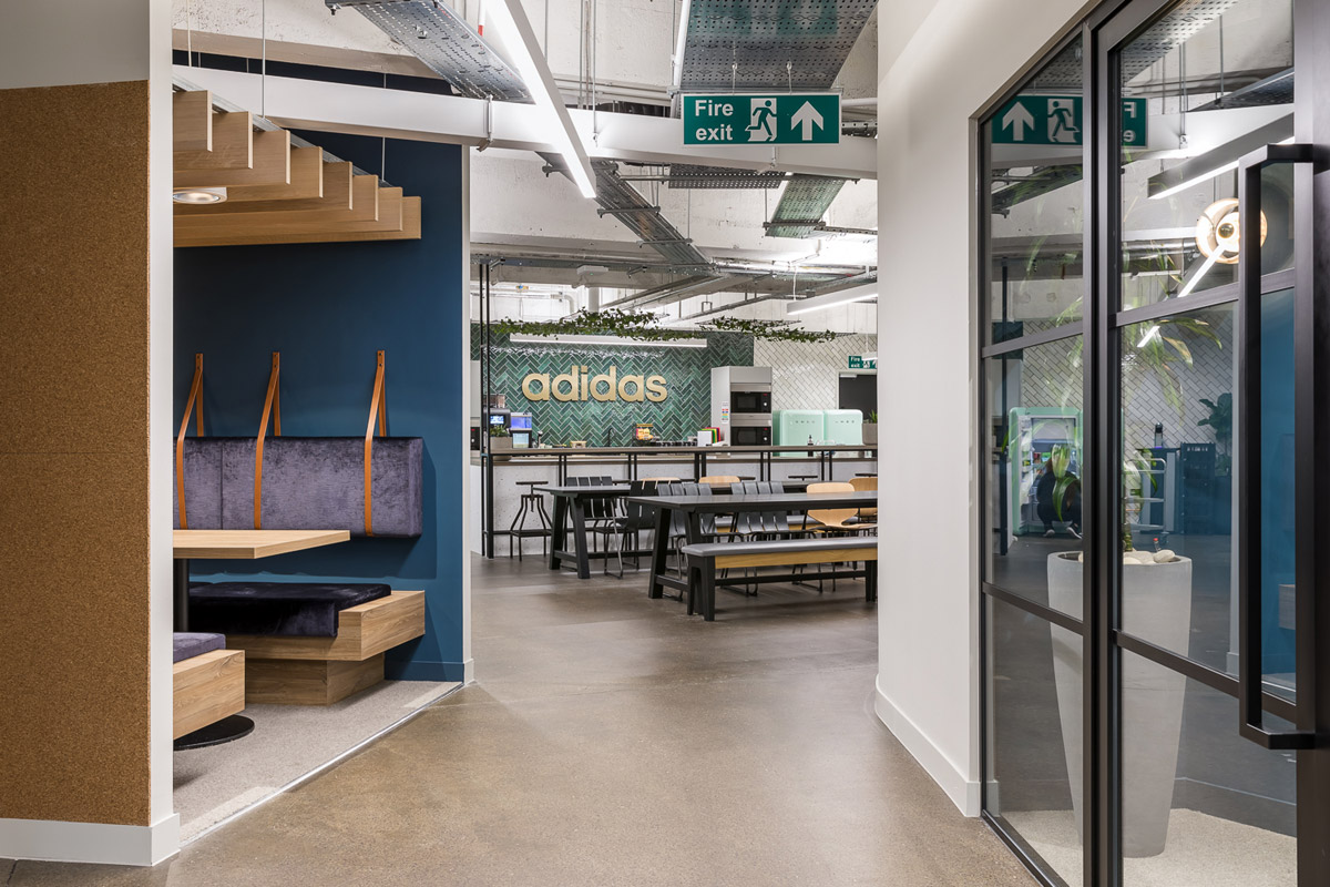 adidas office design, London Head Office Designed to Unite and Inspire Employees